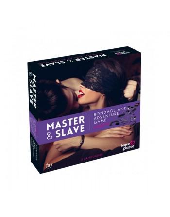 Master and Slave Purple Premium - KIT BDSM