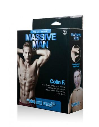 MASSIVE MAN DOLL COLIN F.