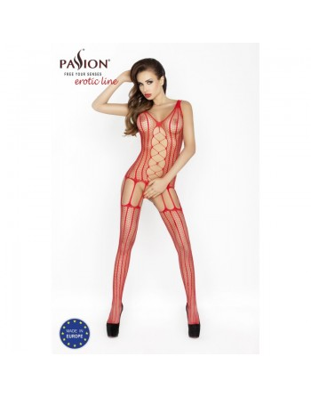BS013R Bodystocking - Rouge