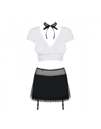 Secretary Costume 3 pcs - Noir et Blanc