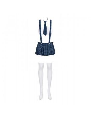 Studygirl Costume 5 pcs - Bleu